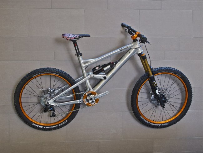 Liteville 601 Komplettbike Works Finish Elox Orange